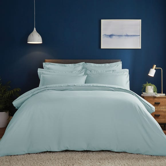 Fogarty Soft Touch Ocean Blue Duvet Cover and Pillowcase Set  undefined