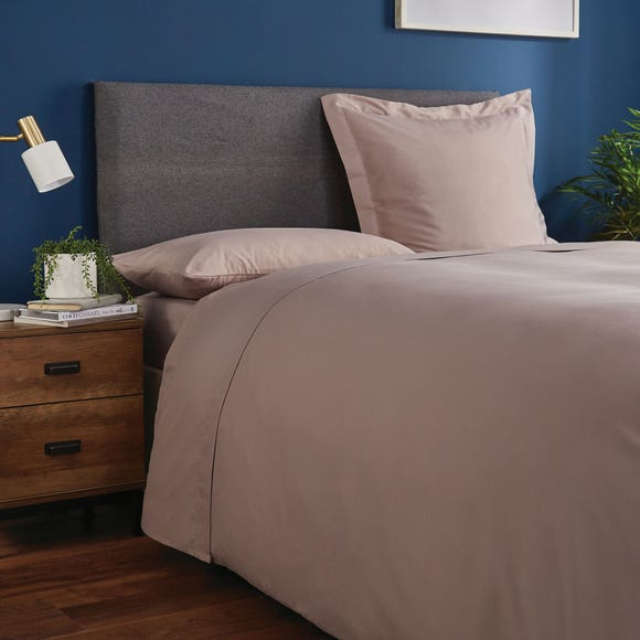Fogarty Soft Touch Flat Sheet Mink (Brown) undefined