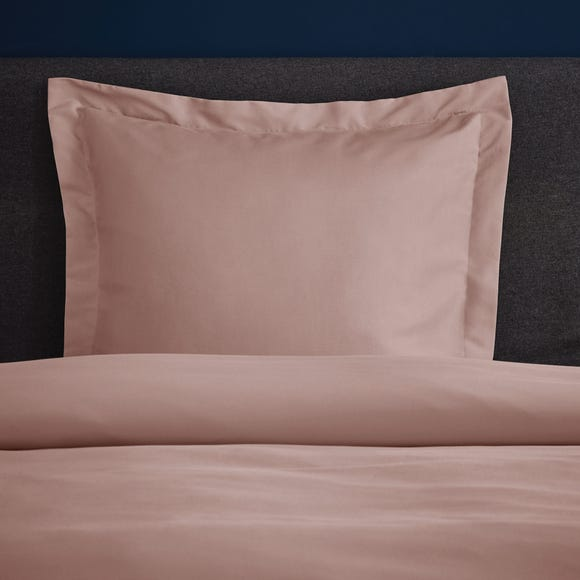 Fogarty Soft Touch Dusky Pink Continental Square Pillowcase Dusky Pink