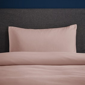 Fogarty Soft Touch Dusky Pink Housewife Pillowcase Pair