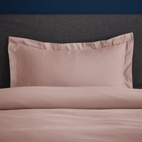 Fogarty Soft Touch Dusky Pink Oxford Pillowcase
