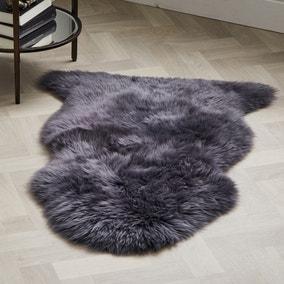 Single Pelt Sheepskin Rug