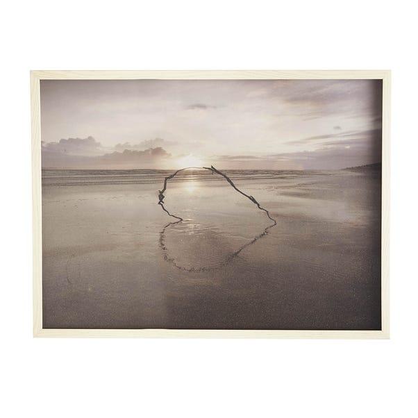 Ian Winstanley Love on the Horizon Print Natural (Beige)