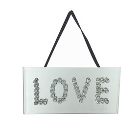 Bling Love Plaque