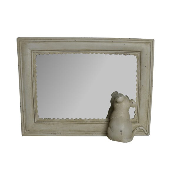 Keepers Lodge Mouse Mirror White