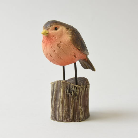 Keepers Lodge Robin Ornament Multi Coloured