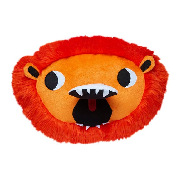 Lion Cushion Orange