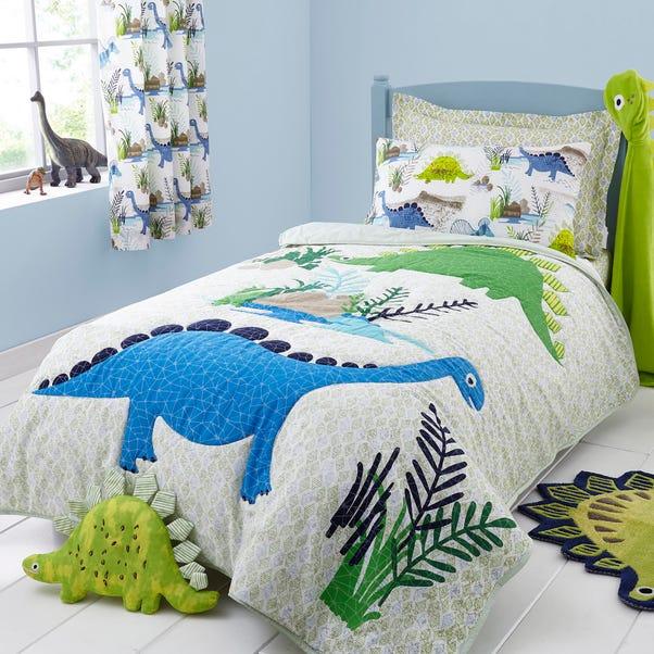 Roar! Dinosaur Bedspread Multi-coloured