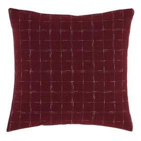 Window Pane Check Cushion