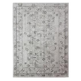 Dorma Beige Traditional Viscose Rug