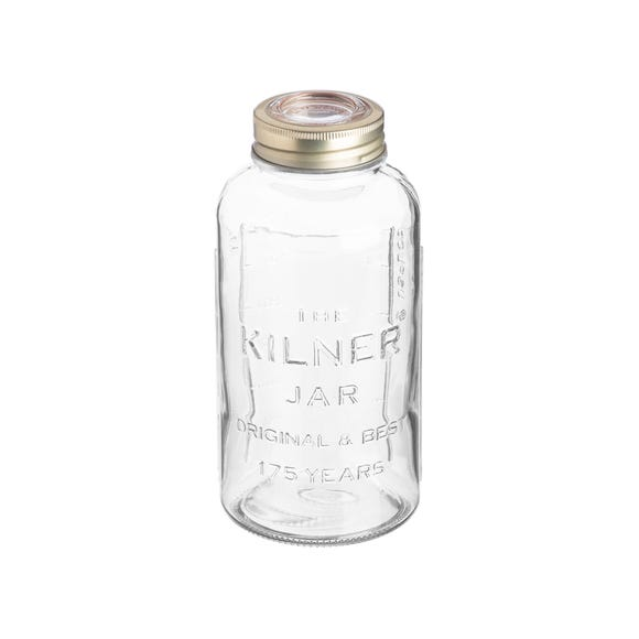 Kilner 1.5 Litre 175 Years Anniversary Jar Clear