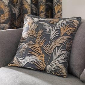 Palm Charcoal Cushion