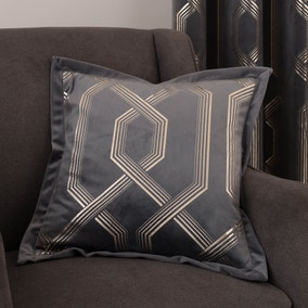 5A Fifth Avenue Bergen Charcoal Cushion