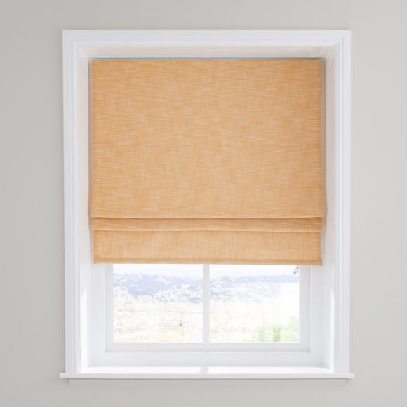 Elements Boucle Ochre Roman Blind  undefined