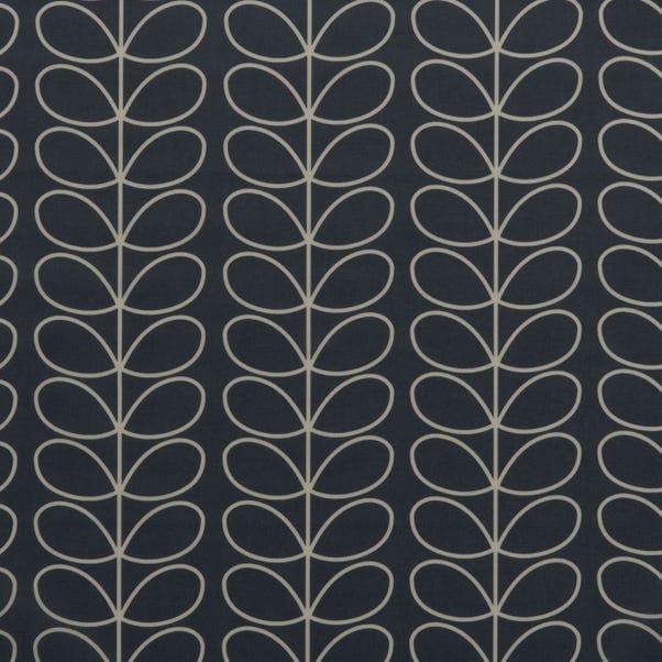 Orla Kiely Linear Stem Cool Grey PVC Grey