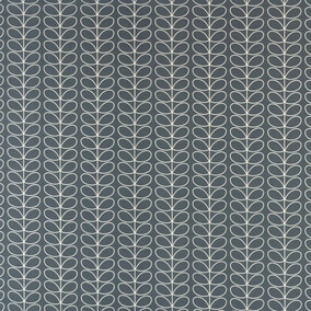 Orla Kiely Linear Stem Cool Grey PVC