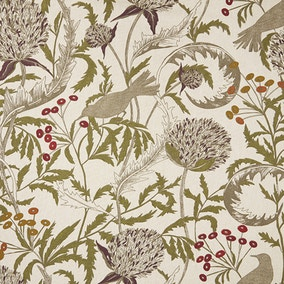 Brindley Mulberry Cotton Fabric