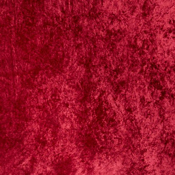Marble Velour Burgundy Crushed Velvet Fabric