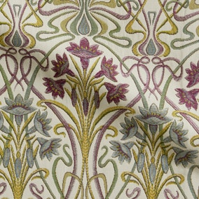 Lucetta Mulberry Fabric