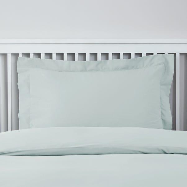 Easycare 100% Cotton Duck Egg Blue Oxford Pillowcase