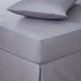 Easycare Cotton 180 Thread Count Fitted Sheet