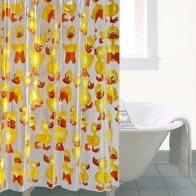 Cheeky Duck Shower Curtain
