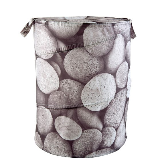 Pebbles Pop Up Basket Grey