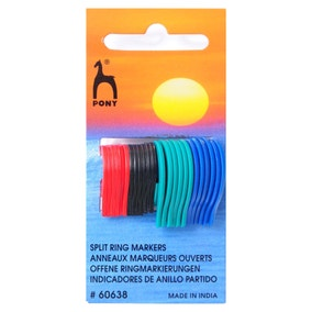 Flat Ring Stitch Markers