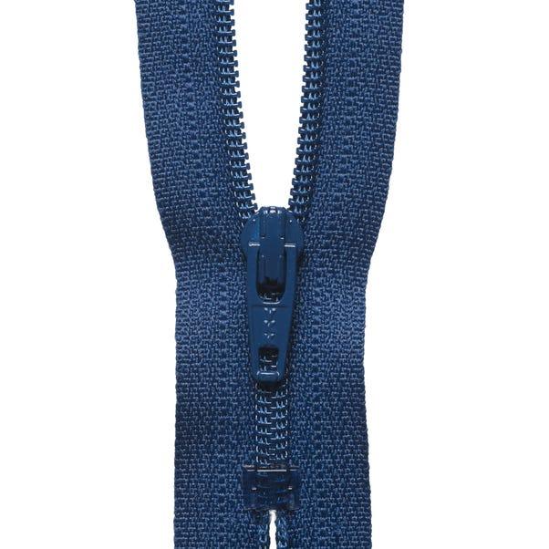 Denim Blue Nylon Dress and Skirt Zip  undefined