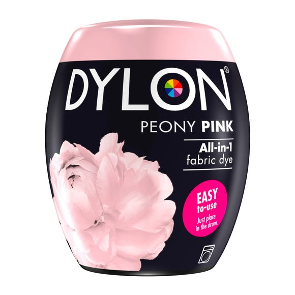 Dylon Peony Pink Machine Dye Pod