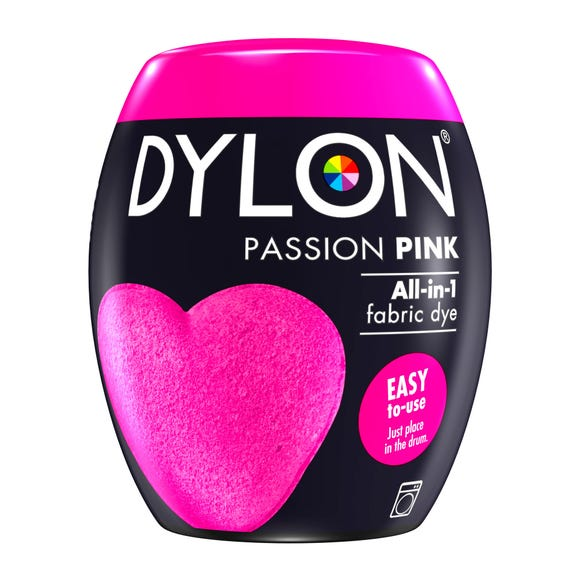 Dylon Passion Pink Machine Dye Pod
