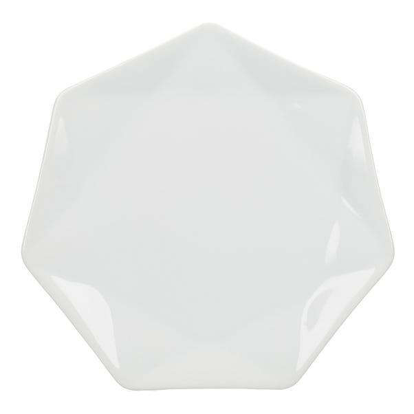 Elements White Quartz Side Plate White