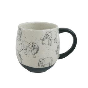 Grey Elephant Mug