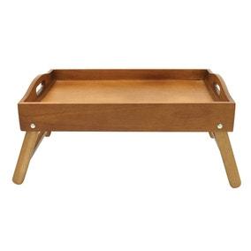 Wooden Acacia Bed Tray
