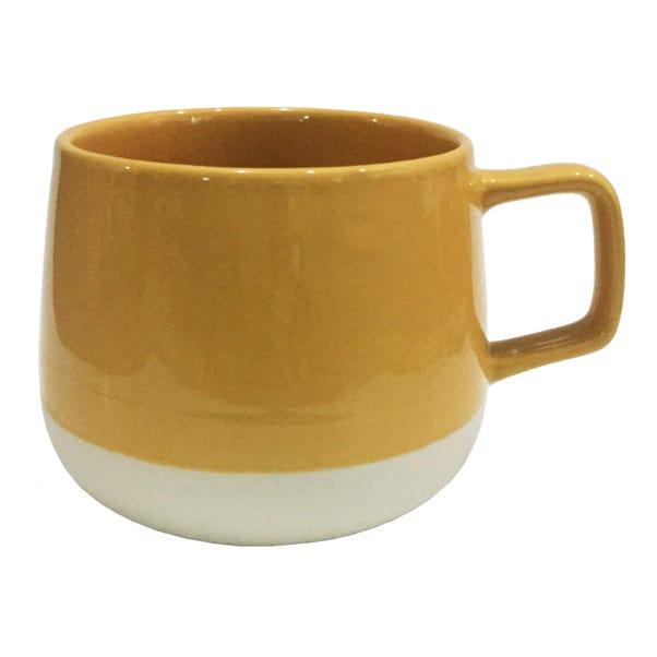 Organic Ochre Mug Ochre (Yellow)