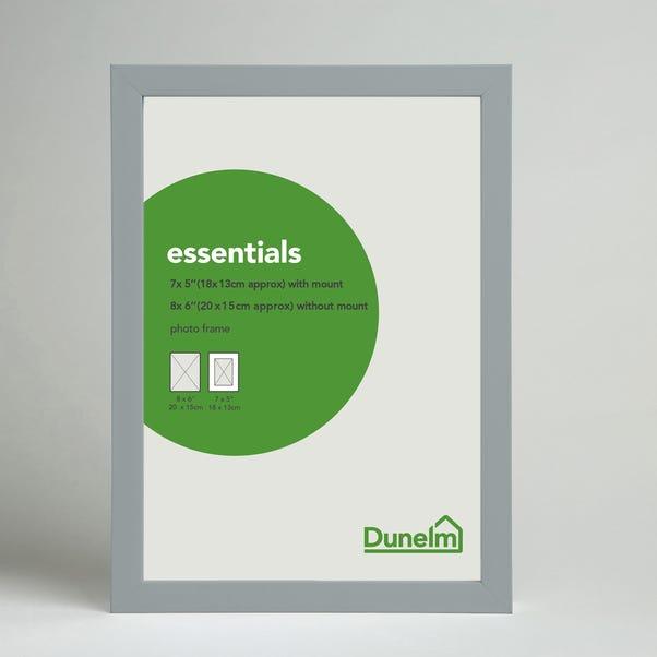 "Essentials Box Frame 12"" x 8"" (30cm x 21cm) Grey undefined"