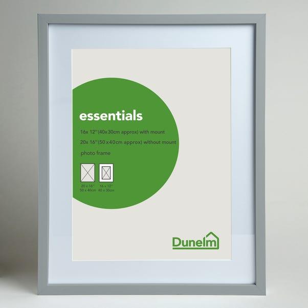 "Essentials Photo Frame 20"" x 16"" (50cm x 40cm) Grey"