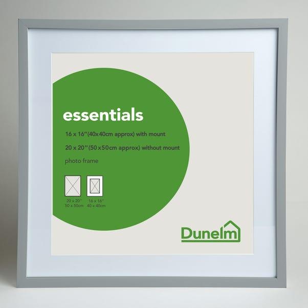 "Essentials Photo Frame 20"" x 20"" (50cm x 50cm) Grey"