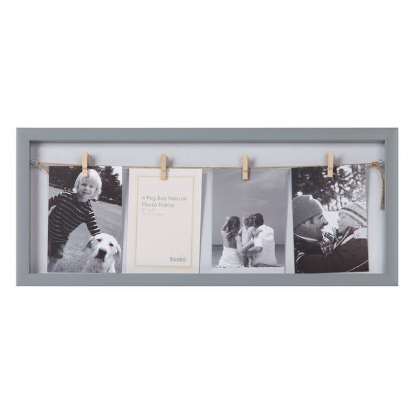 Essentials Grey Peg Frame Grey