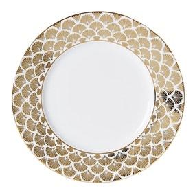 5A Fifth Avenue Bergen Gold Dinner Plate