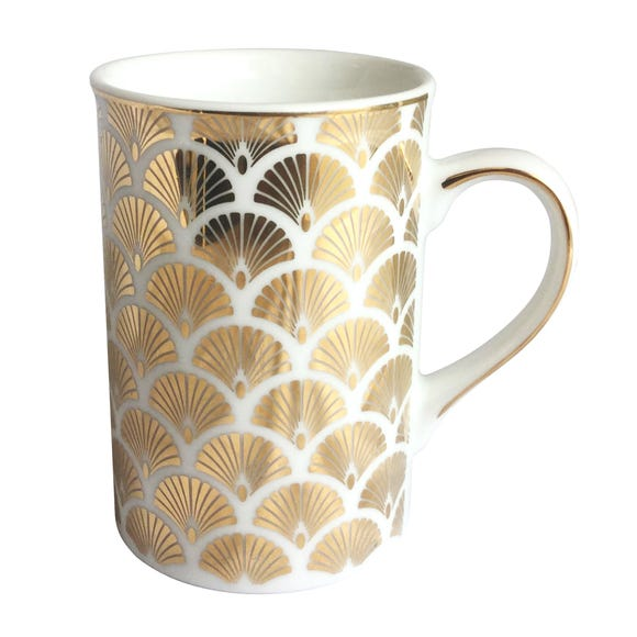 5A Fifth Avenue Bergen Gold Mug Gold