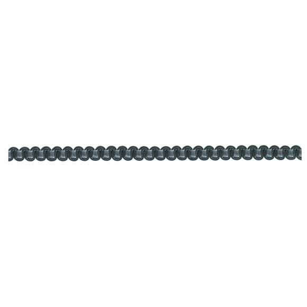 Grey Velvet Wave Braid Trim