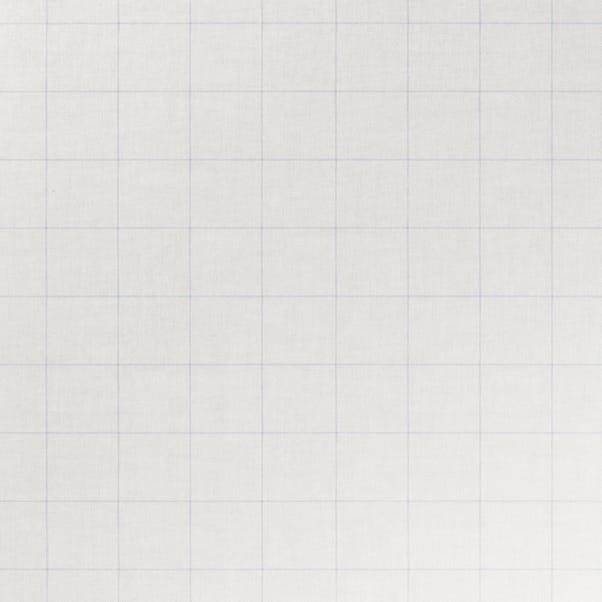 Blue Linen Check PVC