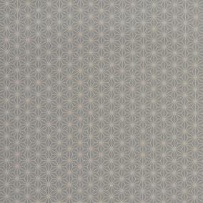 Diamond Geometric Grey PVC