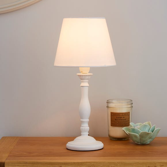 Tofty Mini Ivory Table Lamp Ivory