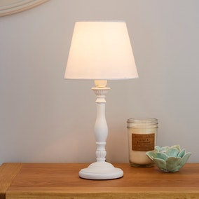 Tofty Mini White Table Lamp