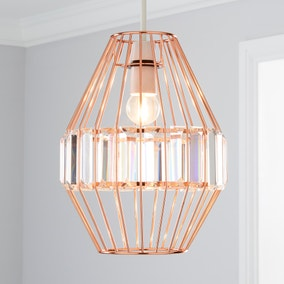 Medan Acrylic Copper Easy Fit Pendant