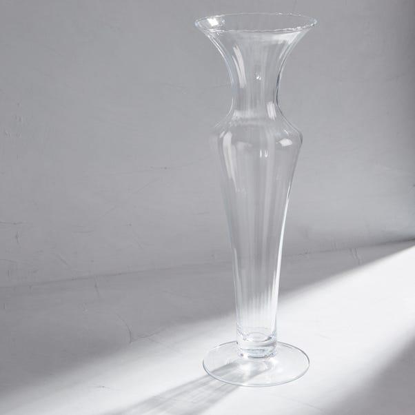 Dorma Optic Vase Clear