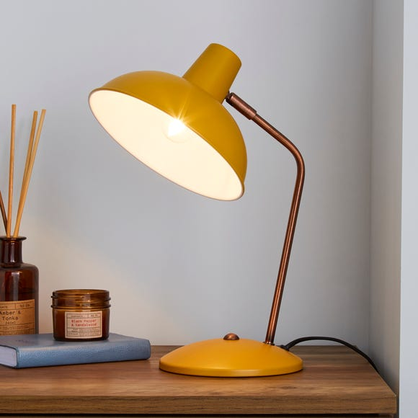 Leiden Ochre Desk Lamp Ochre