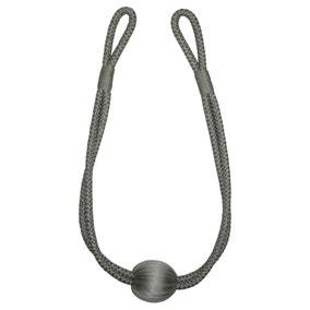 Platinum Ball Rope Tieback